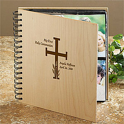 Personalized First Communion Photo Album