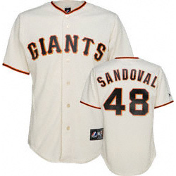 Pablo Sandoval Home Replica #48 San Francisco Giants Jersey