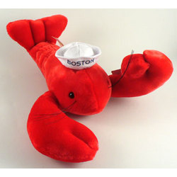 Large Plush Boston Lobster