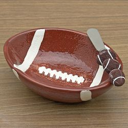 Touchdown Dip Bowl and Spreader Set