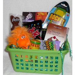 Up and Away Space Gift Basket
