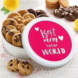 Mrs. Fields Mother's Day Tin of 24 Nibblers