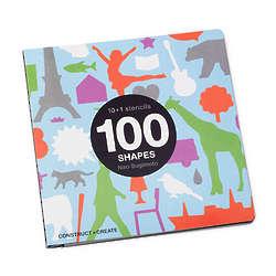 100 Shapes Stencil Book