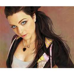 Amy Lee Oil Painting Fine Art Print