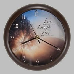 Live, Laugh, Love Song Clock