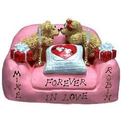 Personalized Couple Forever in Love Valentine Figurine