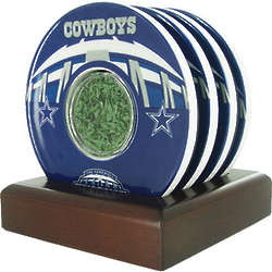 Dallas Cowboys Texas Stadium Turf Coasters
