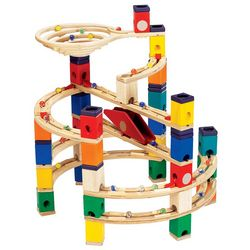 Quadrilla Marble Run Twist and Rail Set