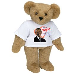 You Barack My World Teddy Bear