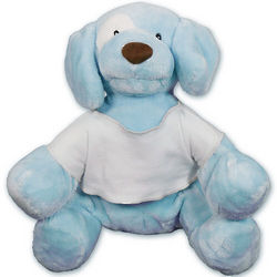 Personalized Blue Spunky Puppy