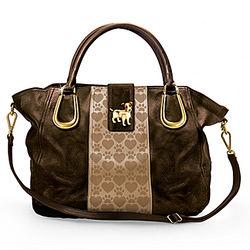 Faux Leather Jack Russell Love Handbag