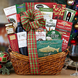 Vintners Path Cabernet Season's Greetings Gift Basket