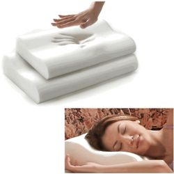 Therapeutic Visco-Elastic Contour Memory Foam Pillow