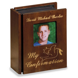 My Confirmation Wooden Album
