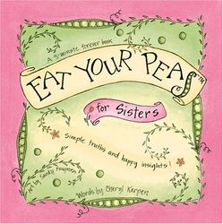 Eat Your Peas for Sisters Book