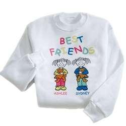 """""""Best Friends"""" Youth Sweatshirt"""