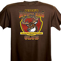 Hunters Club Personalized T-Shirt