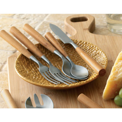 Bamboo 5-Piece Flatware Set