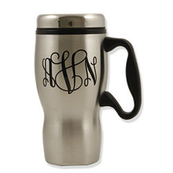 Personalized 14 Oz. Travel Mug