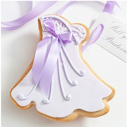 Will You Be My? Edible Joanne Dress Cookie Card
