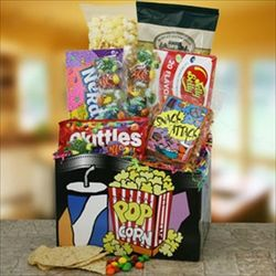 Movie Time For You Gift Basket