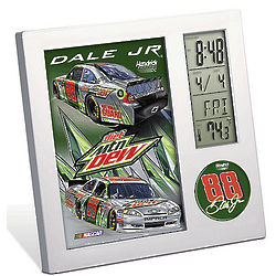 Dale Earnhardt Jr. NASCAR Desk Clock