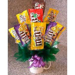 M&M's Candy Bouquet