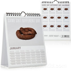 Same S**t Different Day Calendar