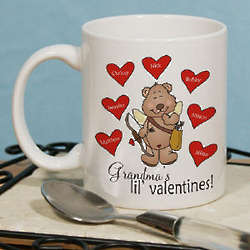 Lil' Valentines Cupid Bear Coffee Mug