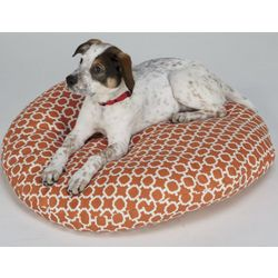 "Colorful Pattern 24"" Round Pet Bed"