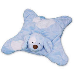 Baby Boy's Blue Puppy Velvety Blanket