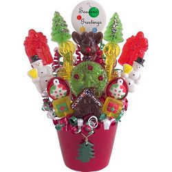 Sweet Noel Lollipop Bouquet