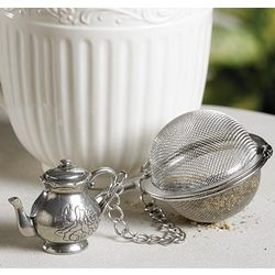 Handcrafted English Teapot Tea Infuser