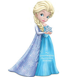 Granddaughter Figurine Inspired By Disney's Frozen