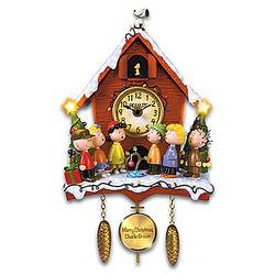 A Charlie Brown Christmas Illuminated Musical Wall Clock
