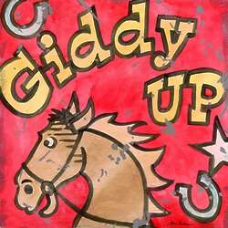 Giddy Up Wall Art