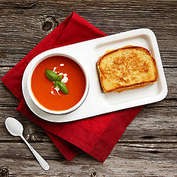 Soup and Sandwich Plates