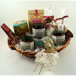 New England Cranberry Lovers Gift Basket