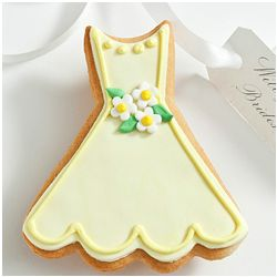 Will You Be My? Edible Caroline Dress Cookie Card