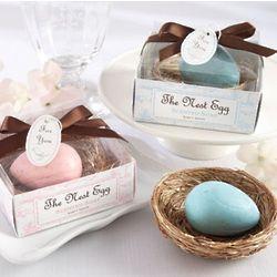 Nest Egg Soap Baby Shower Favor