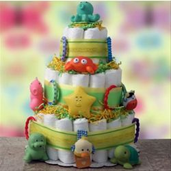 Play Time Diaper Cake