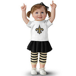 New Orleans Saints Girls Have More Fun Child Doll