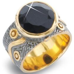 After Midnight Black Onyx Ring
