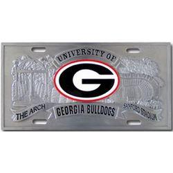 Georgia Bulldogs License Plate