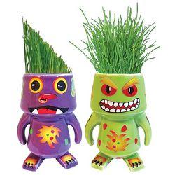 Ceramic Monster Grass Planter