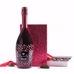Truffles and Bubbly Gift Set