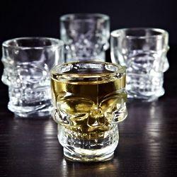 Skulls of Doom Shot Glasses