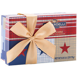 Americana Rectangle Box of 18 Chocolate Squares