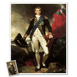 Classic Painting King William Personalized Framed Print