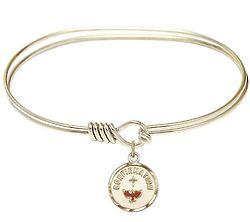 Confirmation Charm Bangle Bracelet
